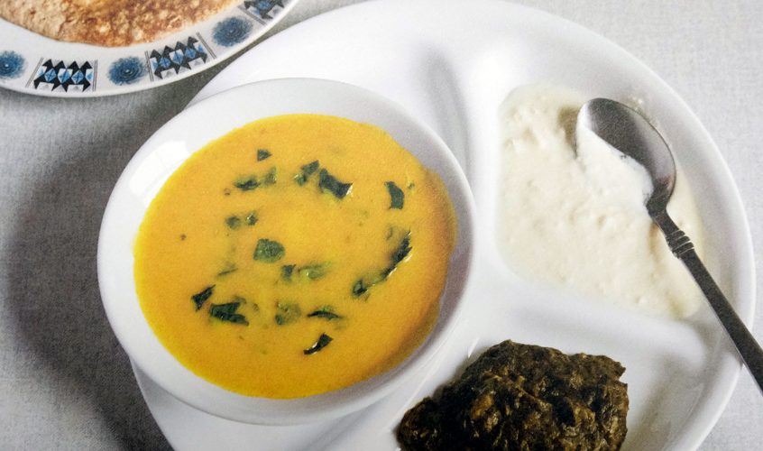 Kadhi recipe by Jagir Kaur 'Memoirs of a Cockney Sikh'