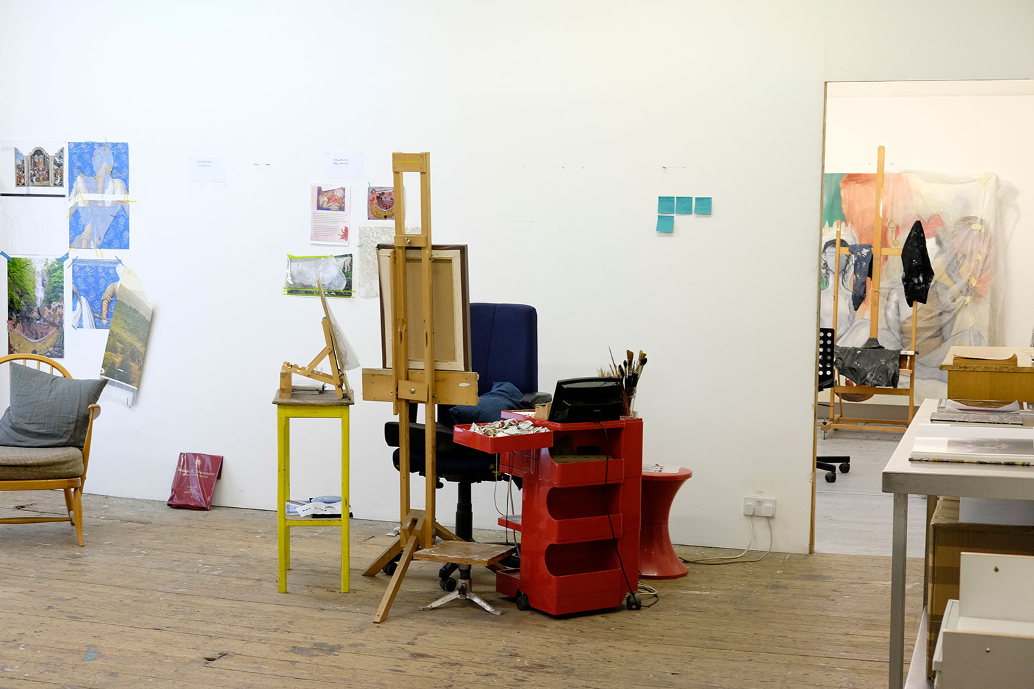 Studio space above Nunnery Gallery in Bow, East London