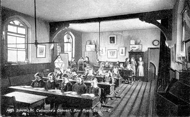 The Nunnery Gallery in its convent school days