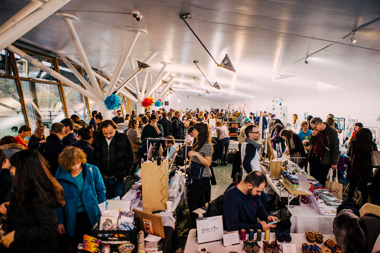 Urban Makers Christmas Market at the Mile End Park Ecology Pavilion, 2016