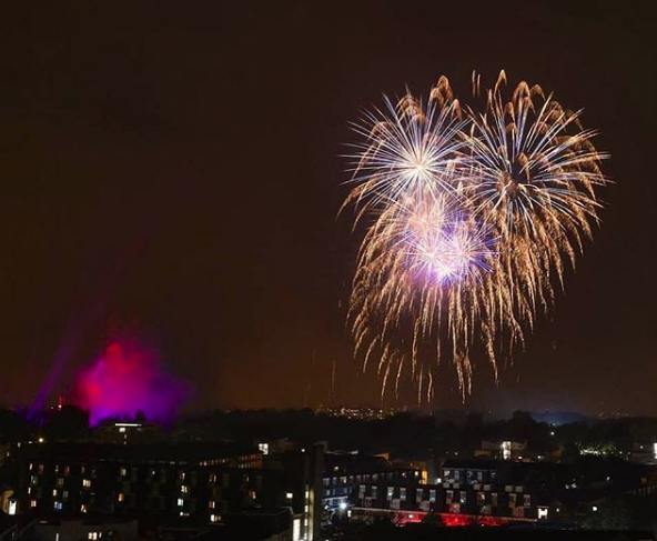 Timelapse of Victoria Park Fireworks 2018 [Video]
