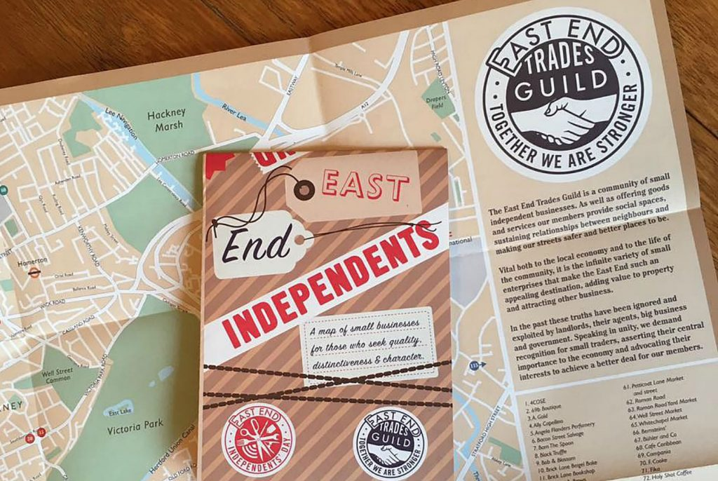 east end trades guild map