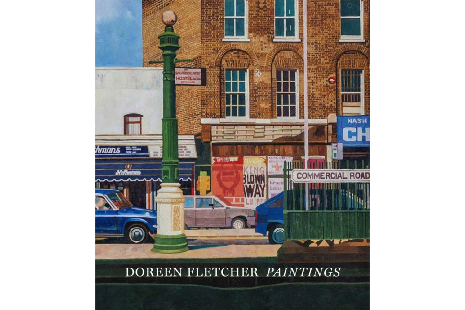 Doreen Fletcher paintings book cover