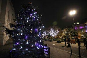 hackney town hall christmas lights