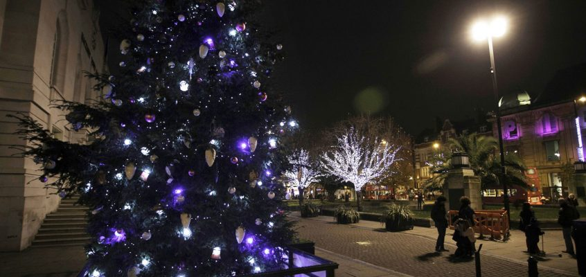 Hackney's festive lights switch on