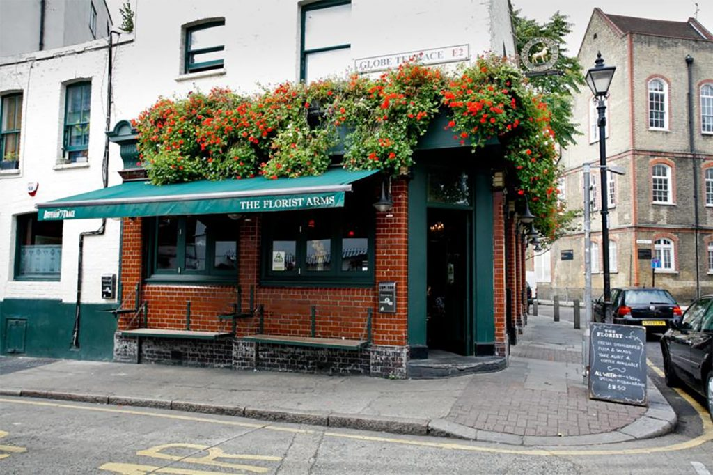 The Florist Arms pub exterior