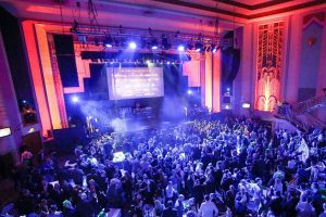 New Year's Eve party at Troxy