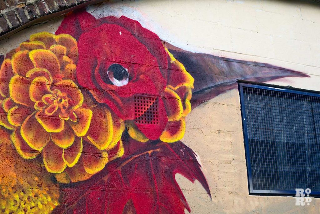 Endangered murals in Mile End