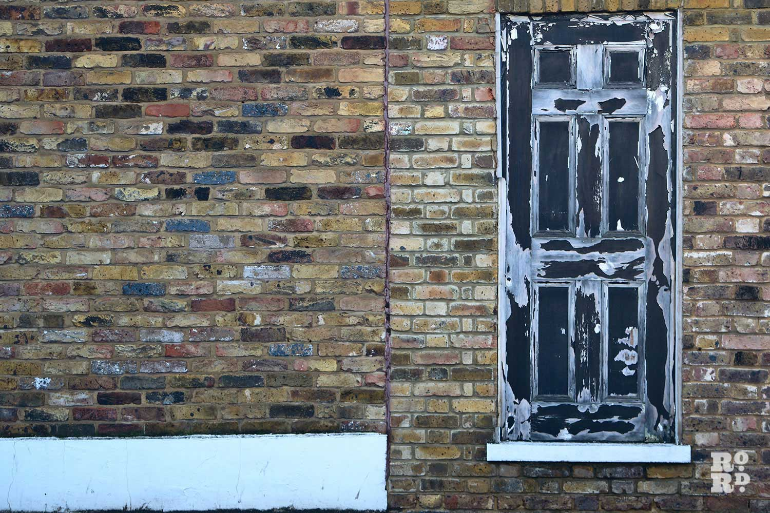 The magic door of Mile End, Coborn Street