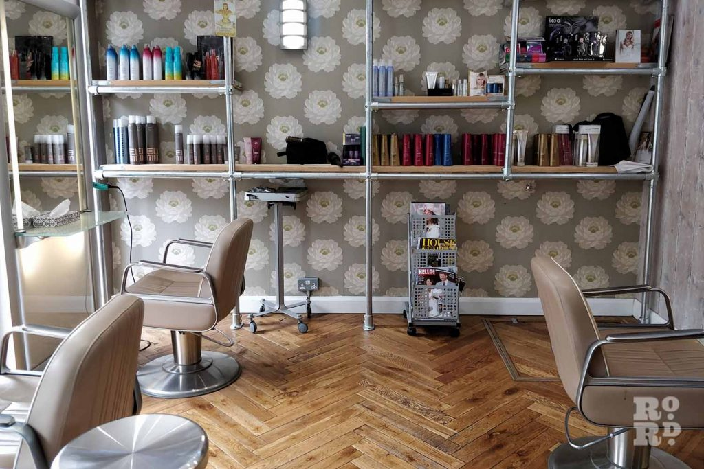 Interior of Diane James Hair & Makeup