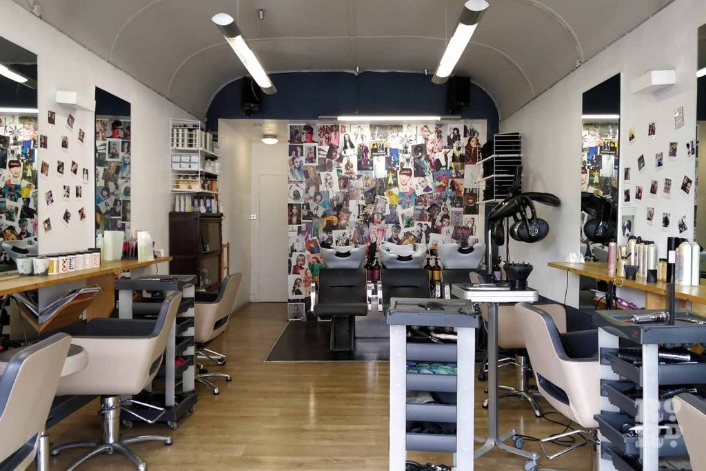 Interior of Idol Hair, Victoria Park Road