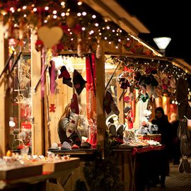 Christmas market East London