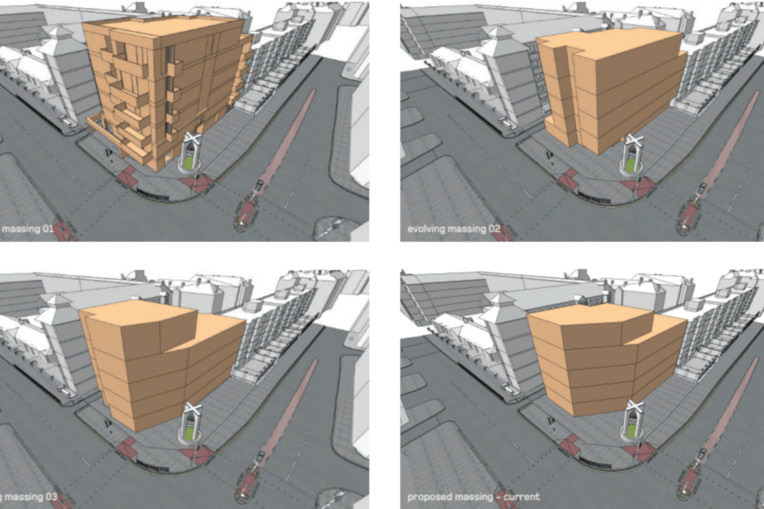 The changing Keats House car park re-development designs