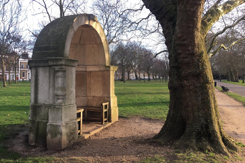 Stone alcove in Victoria Park