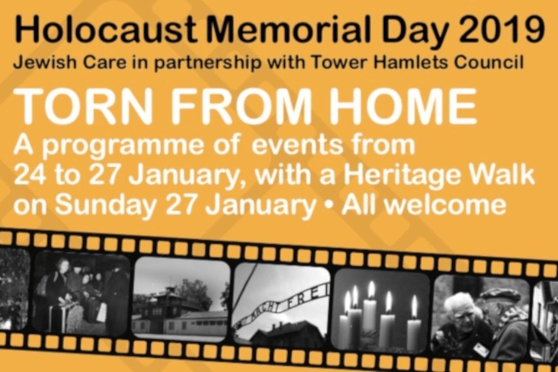 Holocaust Memorial Event Tower Hamlets