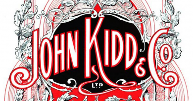 John Kidd & Co ink sample