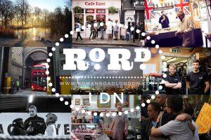 Roman Road LDN birthday flyer