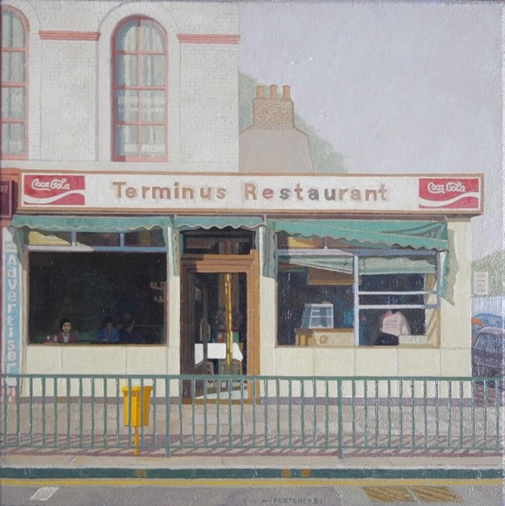 Terminus Restaurant painting by Doreen Fletcher