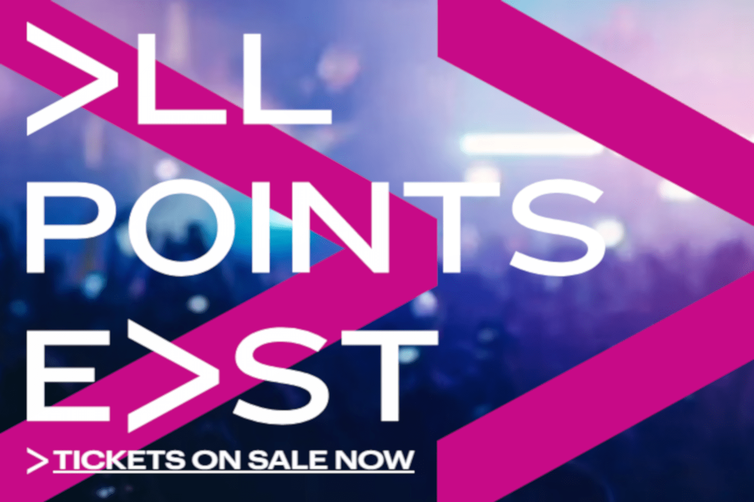 All Points East 2019 poster