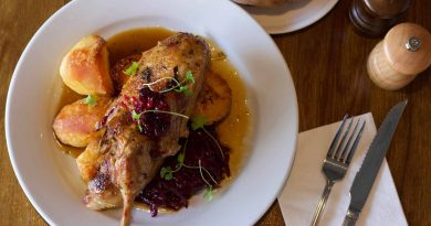 A chicken Sunday Roast at Palmers restaurant
