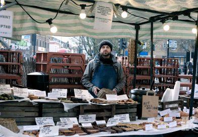 Enzo at his Saint Sugar of London on Roman Road