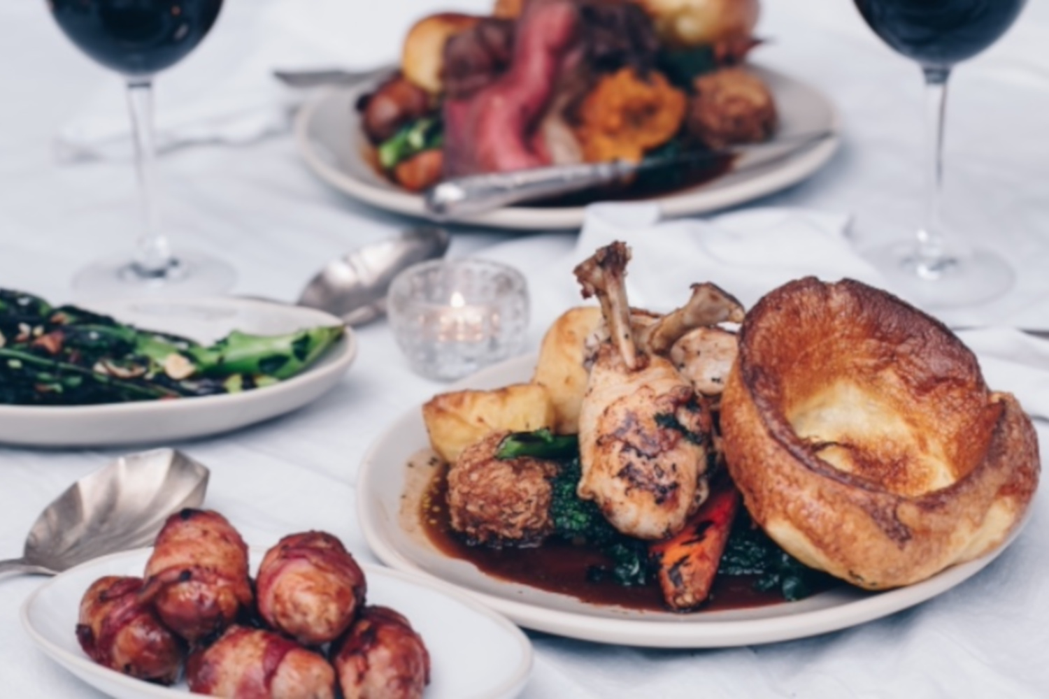The Crown Sunday Roast dinner