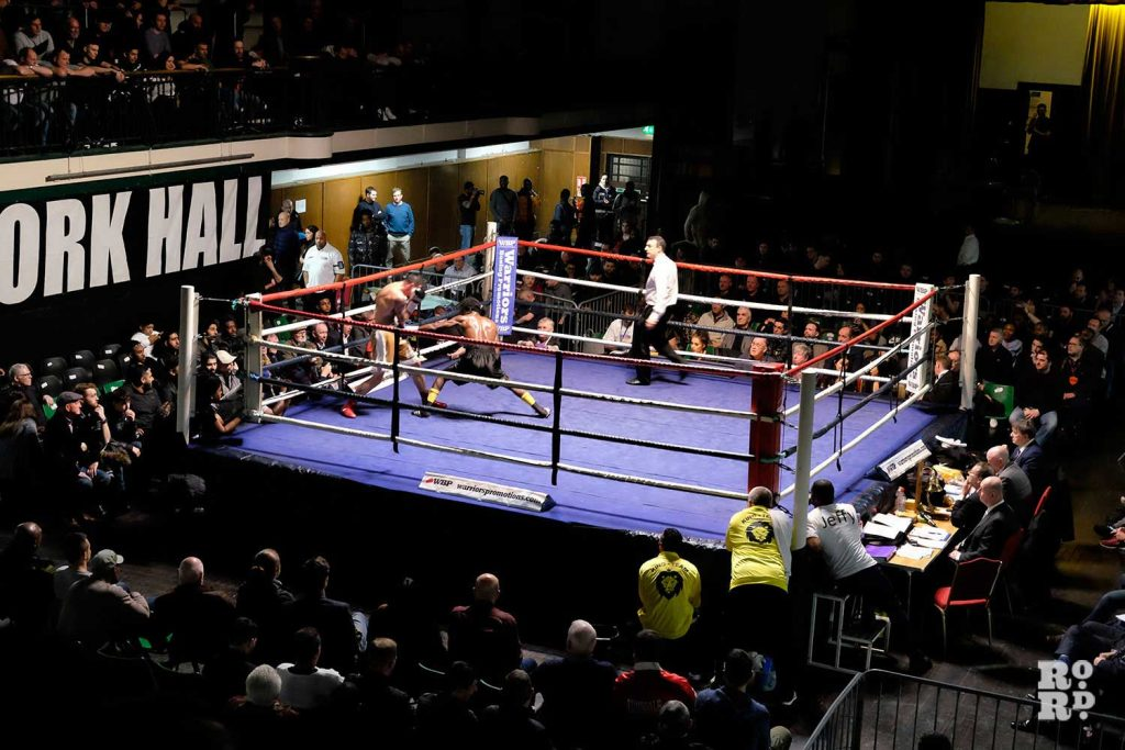 York Hall Boxing East London