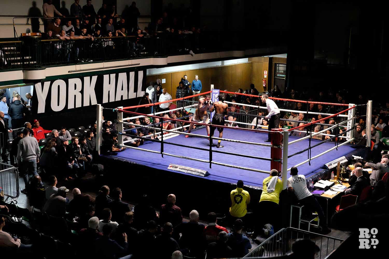 York Hall Boxing East London venue