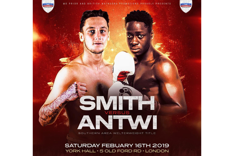 Jez Smith vs Samuel Antwi Boxing at York Hall