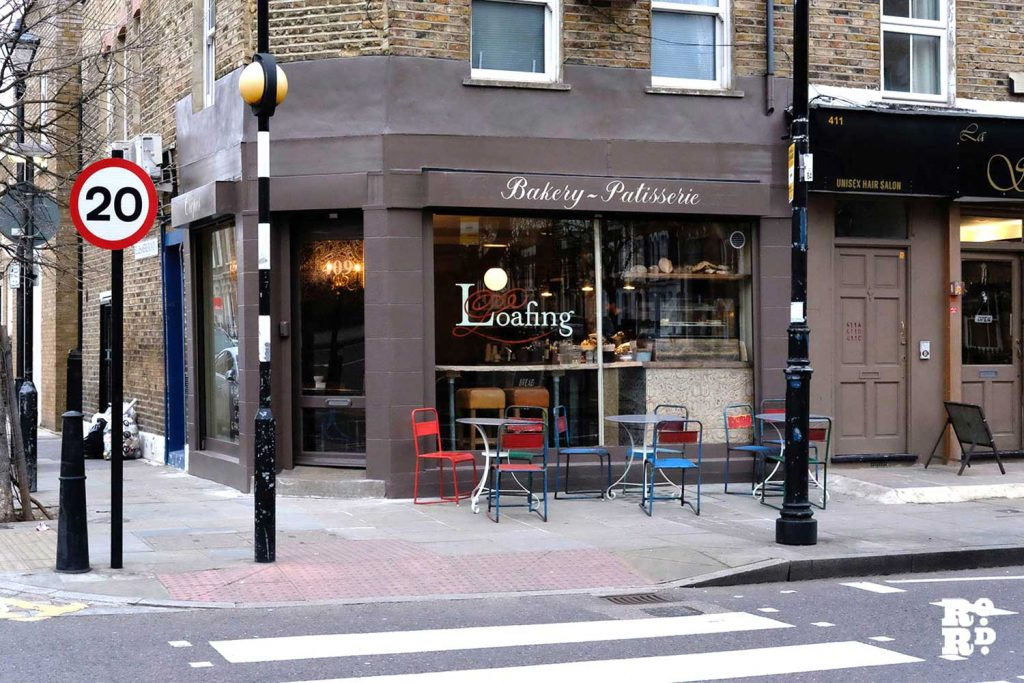 Loafing coffee crepe shop roman road