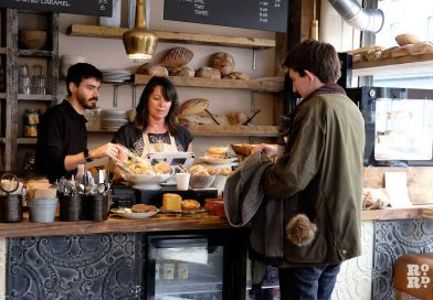 Loafing coffee & crêpe shop reopens on Roman Road