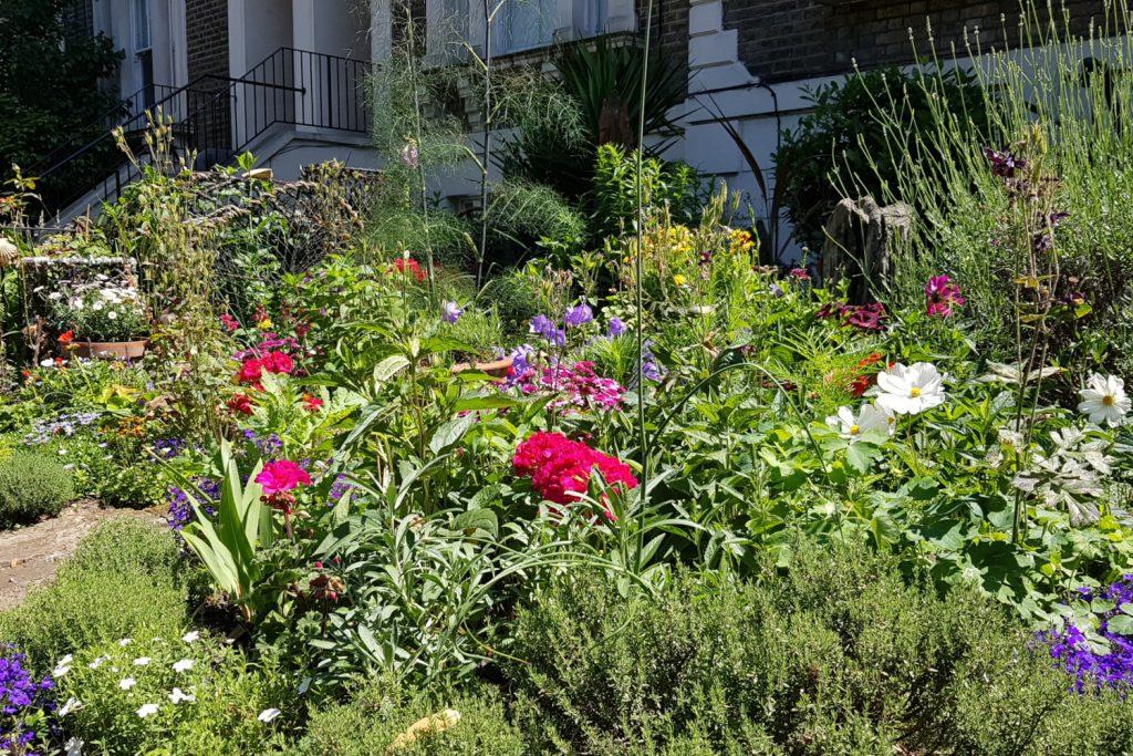 Martin Fuller Plants Globe Town Square