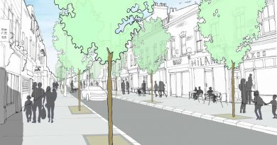 Liveable Neighbourhood visualisation of Roman Road, Bow, East London