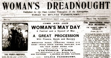 An issue of The Woman's Dreadnought newspaper