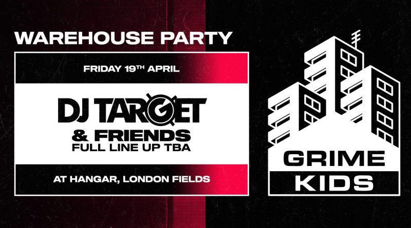 Grime Kids Warehouse Party