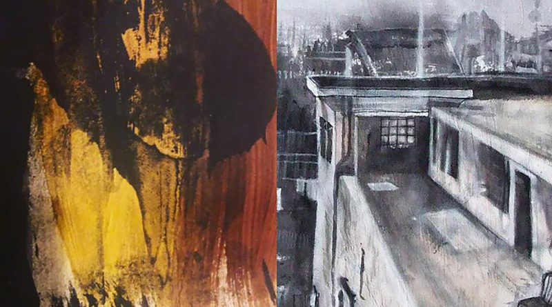 Works by artists Abdulleh and Osmani for their East London talk