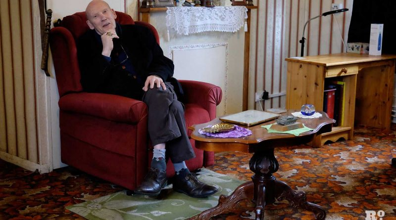 Eddie Brown at his home in Bow, East London