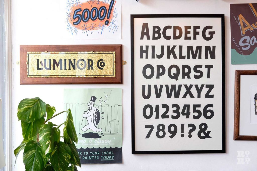 Samples inside Luminor Sign Co
