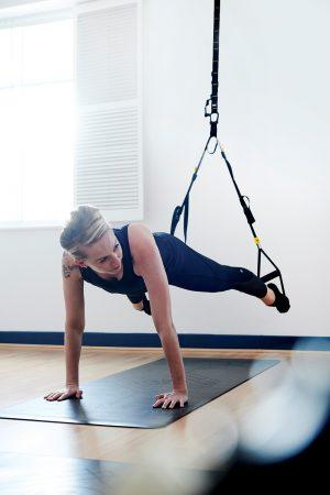 TRX suspension training at Move