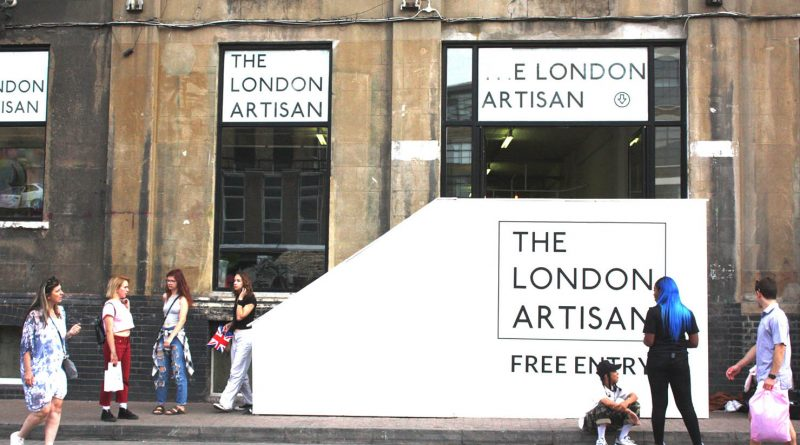 The London Artisan from outside