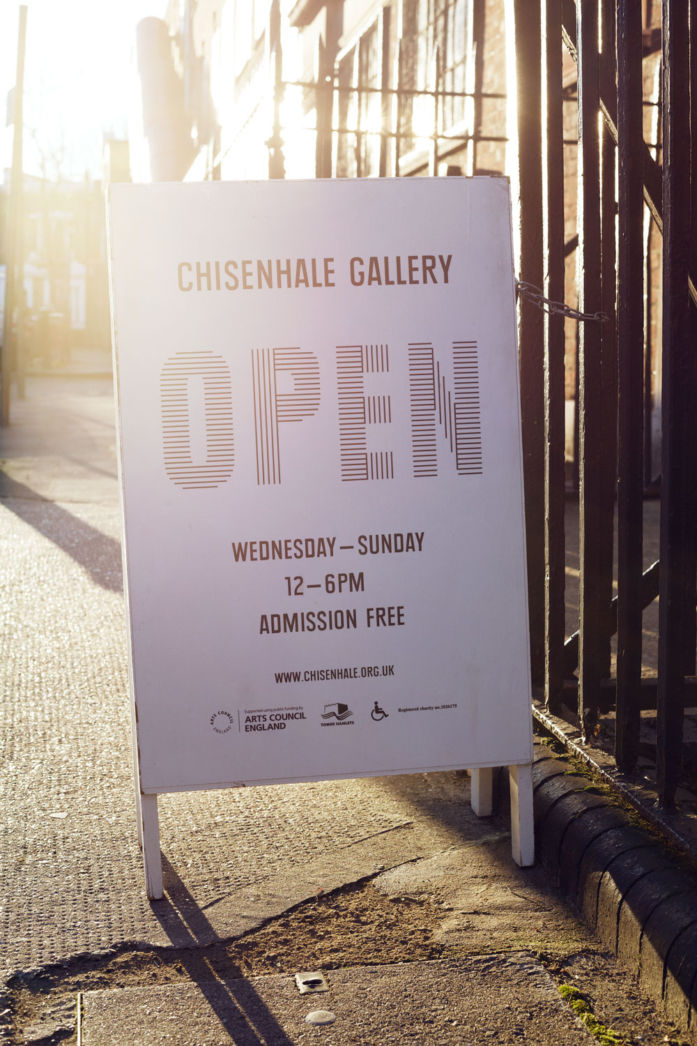 Chisenhale Gallery, no. 53 in An Opinionated Guide to East London © Charlotte Schreiber