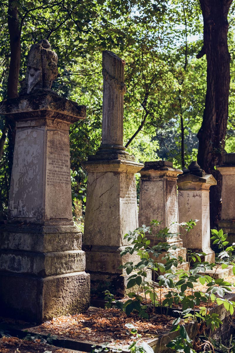 Tower Hamlets Cemetery Park, no. 31 in An Opinionated Guide to East London © Charlotte Schreiber