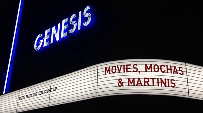 Genesis Cinema outside