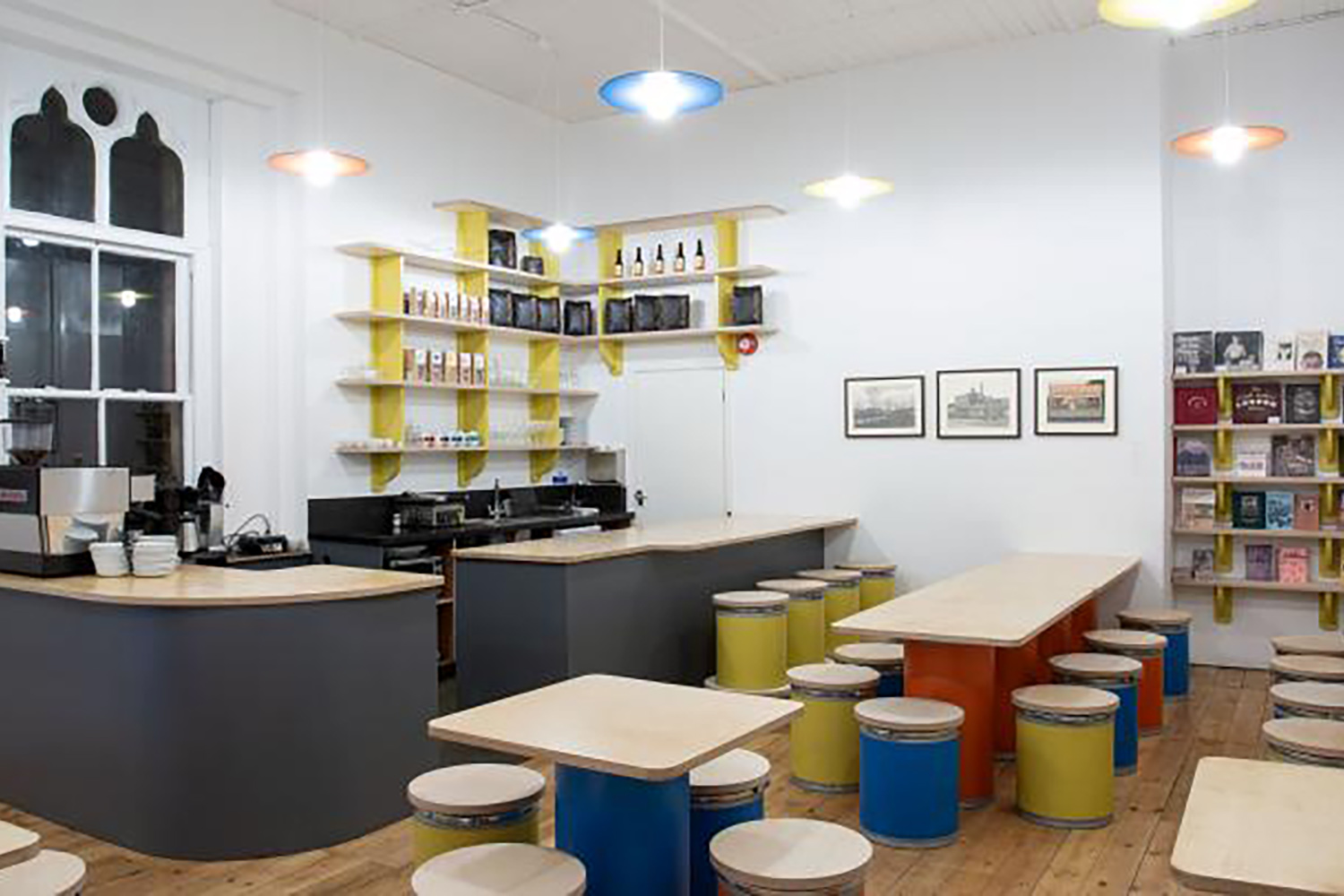 Supper Club in the new Nunnery Cafe