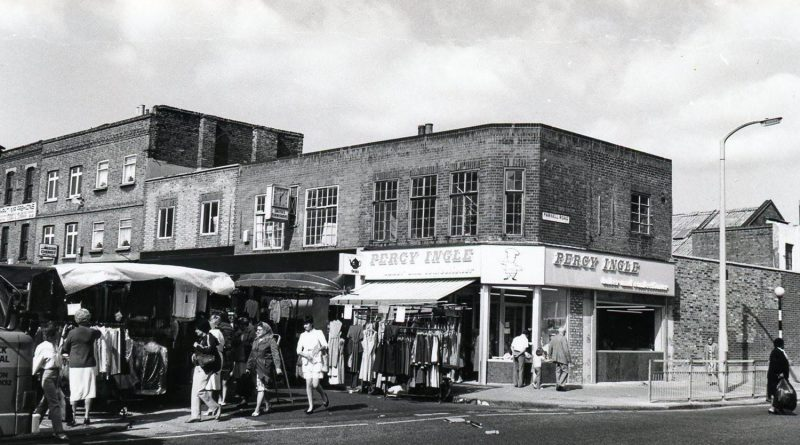 Percy Ingle in East London, 1982