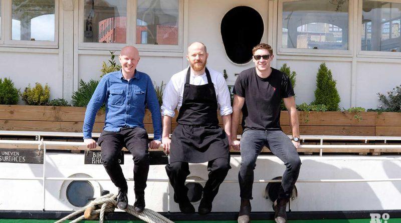 Barge East founders, Stuart Thomson, Ryan Craig and Rob Blandy