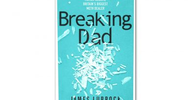 Book cover of 'Breaking Dad' by James Lubbock