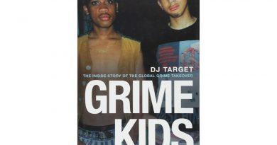 Book cover of 'Grime Kids' by DJ Target