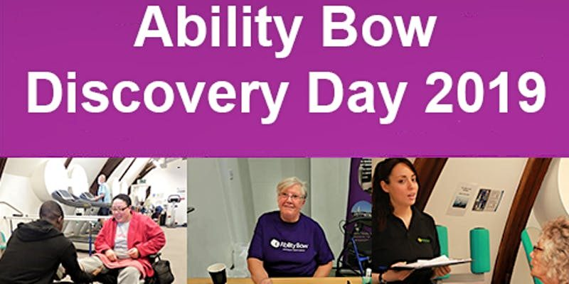 Ability Bow Discovery Day 2019 flyer