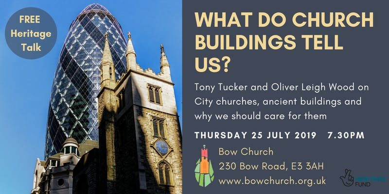 Bow Church heritage talk flyer